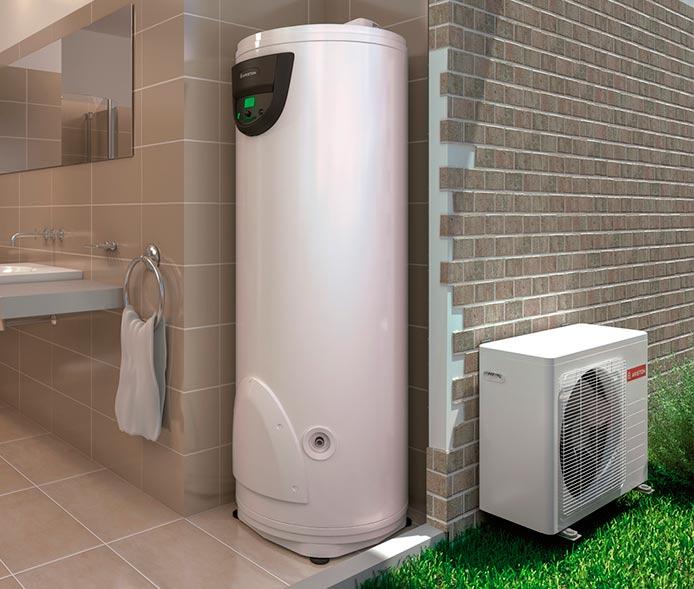 Bomba de calor para ACS, una opción para agua caliente en el hogar