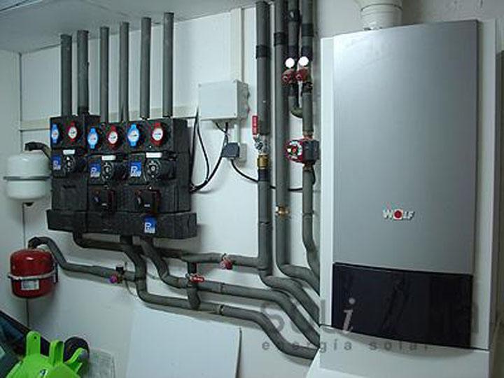 Las calderas de condensación tienen la capacidad de  adaptarse  a la demanda en cualquier rango de funcionamiento del equipo