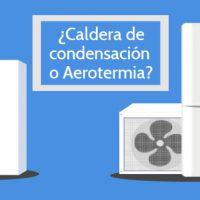 ¿Calderas de gas o aerotermia? Comparación.